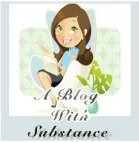 Blog of Substance Award