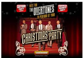 Get #TheOvertones At Your Christmas Party! #competition