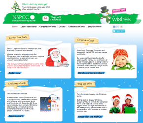 NSPCC Christmas Wishes #festivefriday